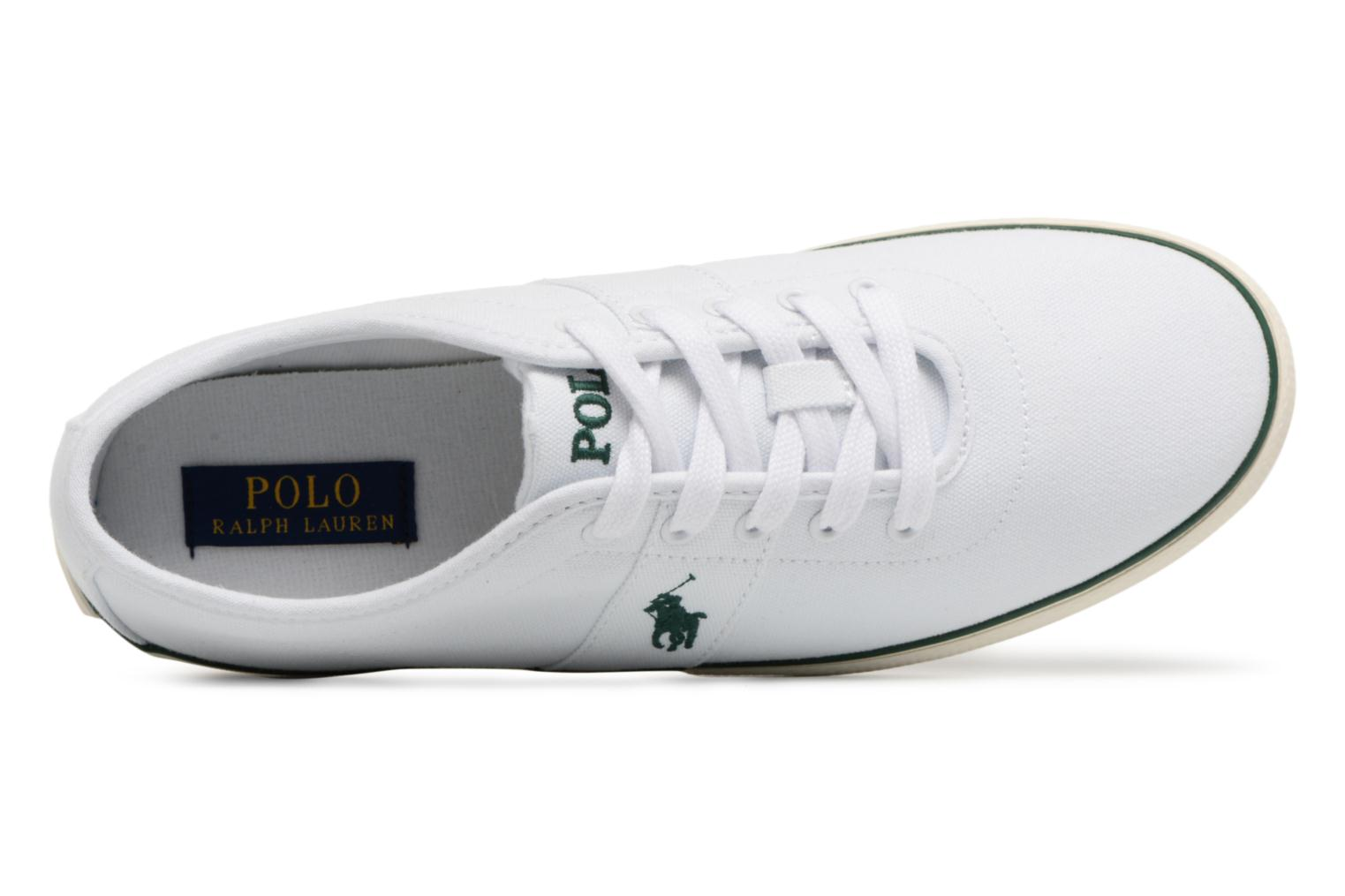 Trainers Polo Ralph Lauren Halford White view from the left