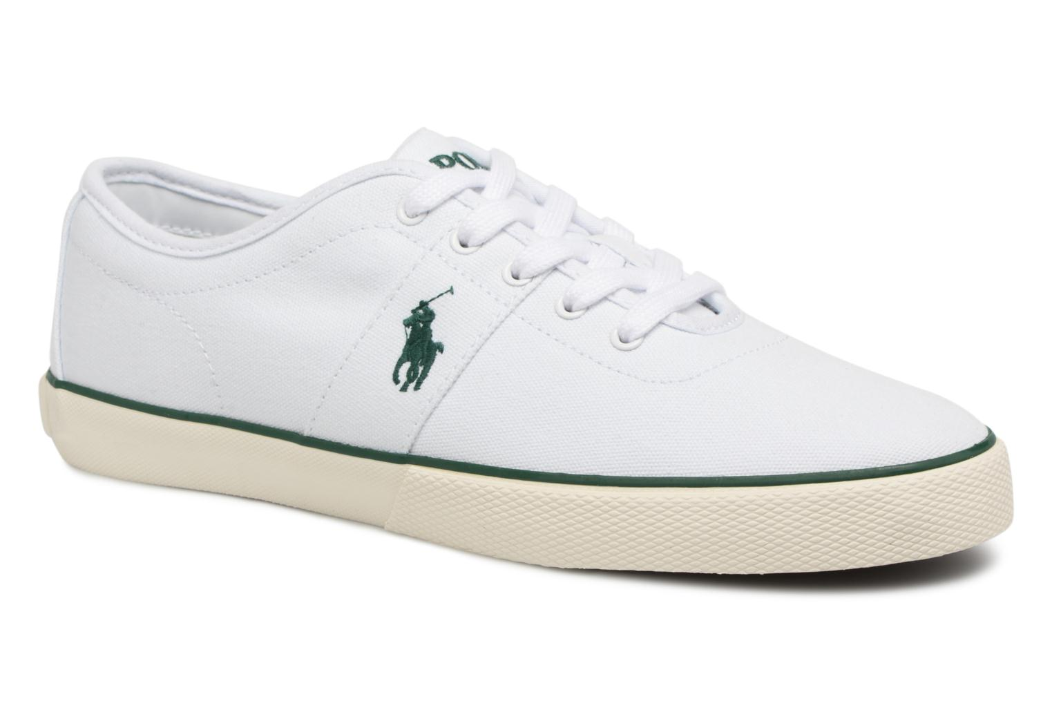Trainers Polo Ralph Lauren Halford White detailed view/ Pair view