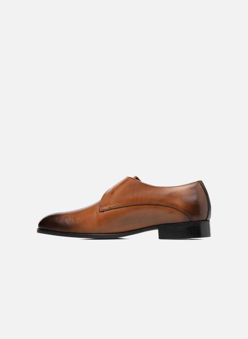 Zapato con hebilla Marvin&Co Newbattle Marrón vista de frente