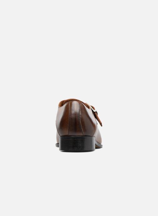 Chaussure à boucle Marvin&Co Newbattle Marron vue droite