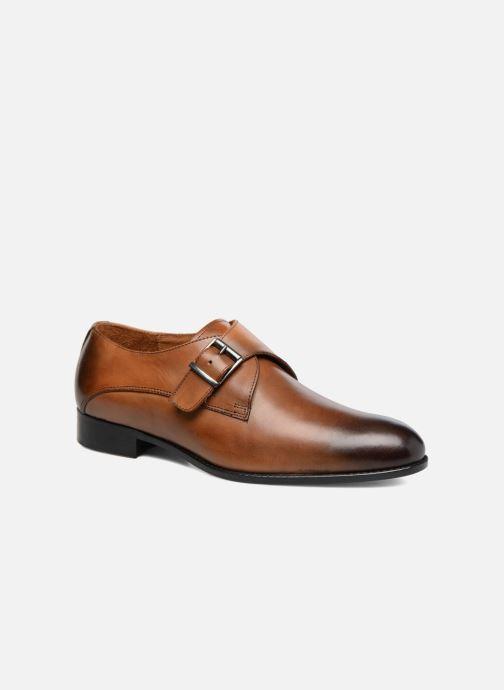 Chaussure à boucle Marvin&Co Newbattle Marron vue détail/paire