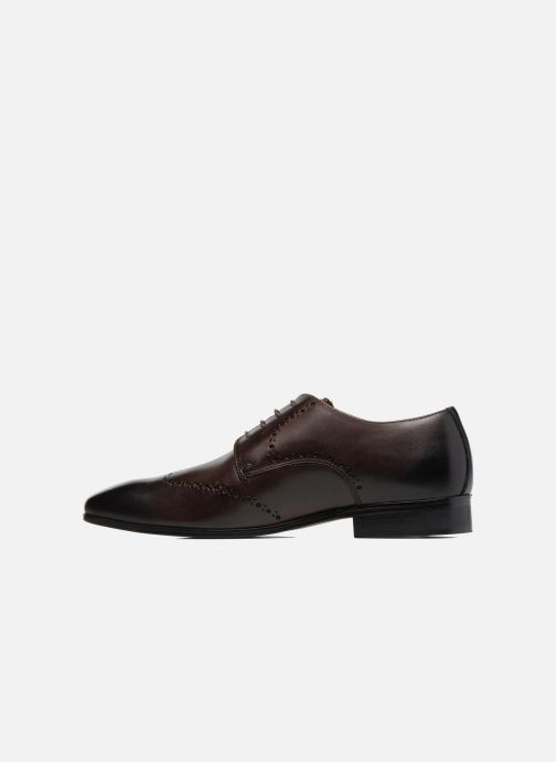 Lace-up shoes Marvin&co Nottage Brown front view