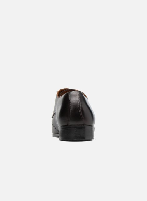 Lace-up shoes Marvin&co Nottage Brown view from the right