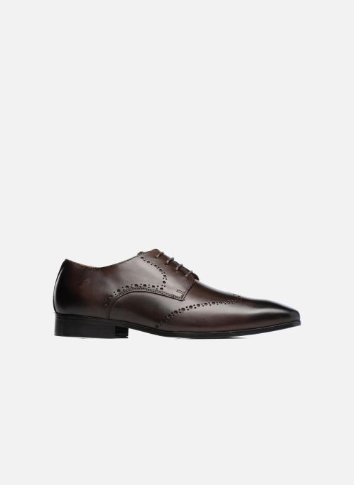 Lace-up shoes Marvin&co Nottage Brown back view