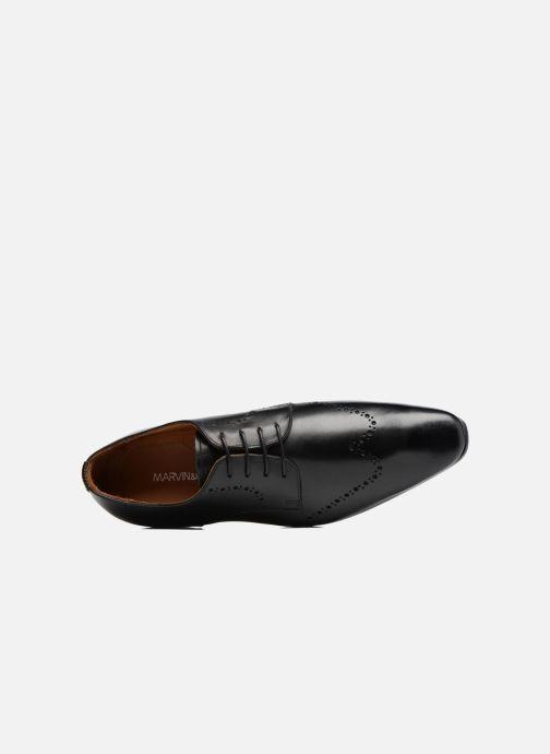 Scarpe con lacci Marvin&Co Nottage Nero immagine sinistra
