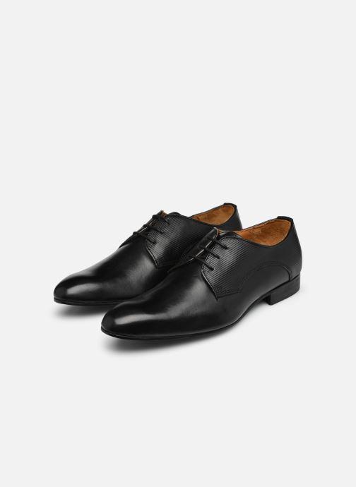 Chaussures à lacets Marvin&Co Northam Noir vue bas / vue portée sac