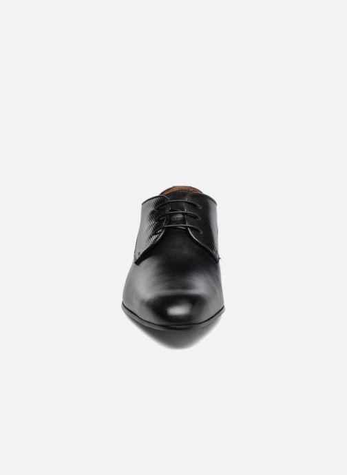 Schnürschuhe Marvin&Co Northam schwarz schuhe getragen