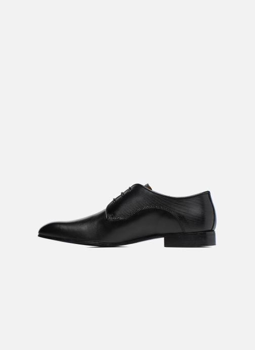 Schnürschuhe Marvin&Co Northam schwarz ansicht von vorne