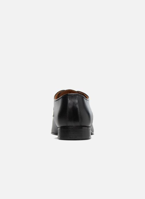 Schnürschuhe Marvin&Co Northam schwarz ansicht von rechts