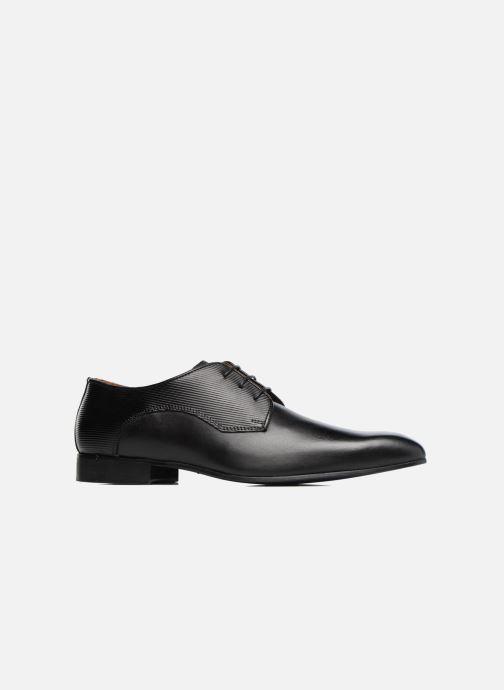 Zapatos con cordones Marvin&Co Northam Negro vistra trasera