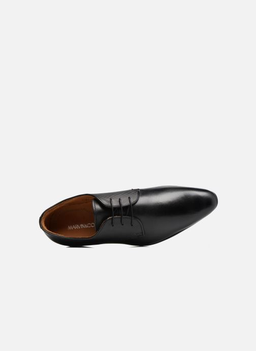 Zapatos con cordones Marvin&Co Northam Negro vista lateral izquierda