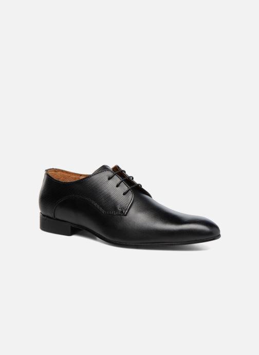 Zapatos con cordones Marvin&Co Northam Negro vista de detalle / par