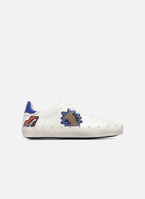 Sneakers Rebecca Minkoff Michell Pop Nappa Wit achterkant