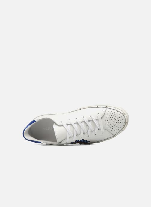 Baskets Rebecca Minkoff Michell Pop Nappa Blanc vue gauche