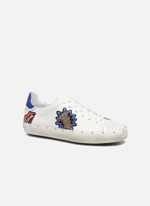 Baskets Rebecca Minkoff Michell Pop Nappa Blanc vue détail/paire