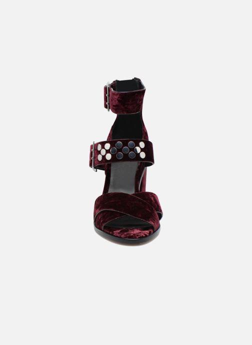 Escarpins Rebecca Minkoff Jennifer Bordeaux vue portées chaussures