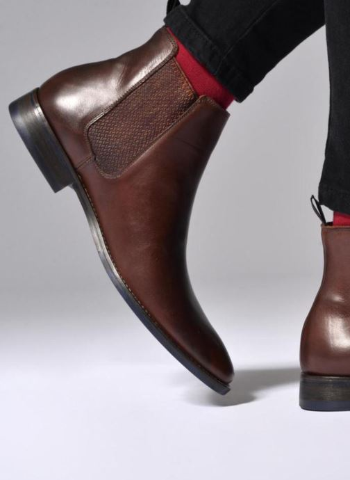 Ankle boots Marvin&co Newgale Black view from underneath / model view
