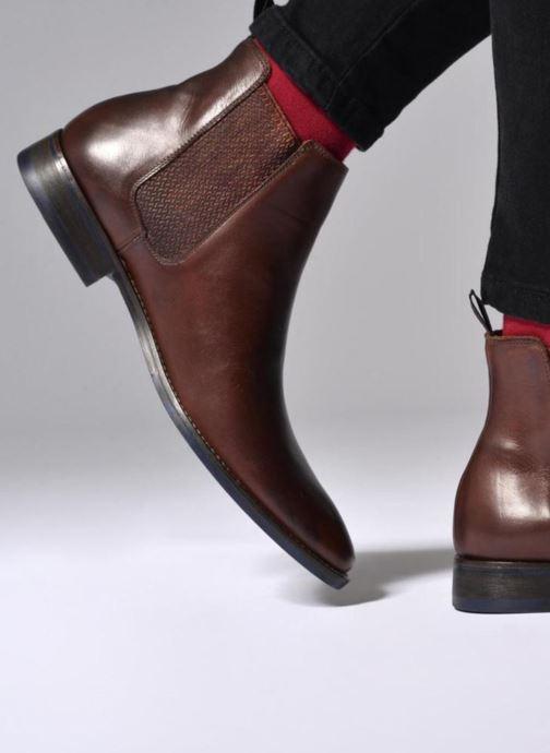 Stiefeletten & Boots Marvin&Co Newgale braun ansicht von unten / tasche getragen