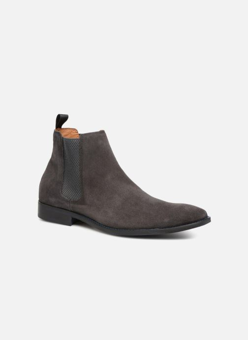 Bottines et boots Marvin&Co Newgale Gris vue détail/paire