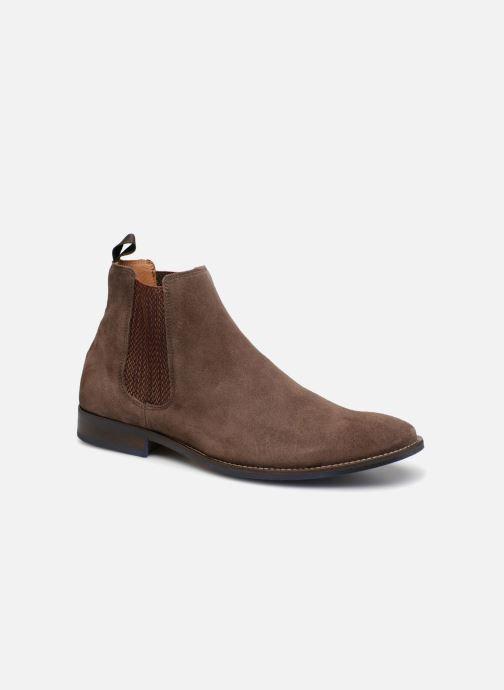 Bottines et boots Marvin&Co Newgale Marron vue détail/paire