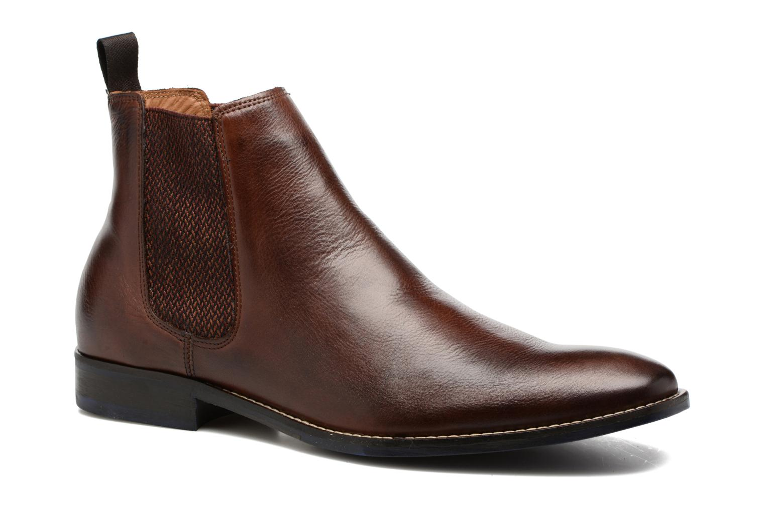 Ankle boots Marvin&co Newgale Brown detailed view/ Pair view
