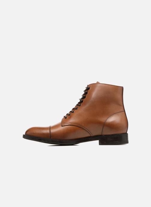 Bottines et boots Marvin&Co Norham Marron vue face