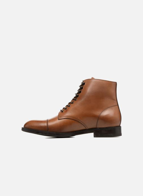Ankle boots Marvin&co Norham Brown front view