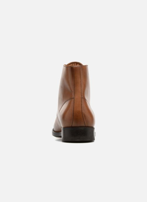 Ankle boots Marvin&co Norham Brown view from the right