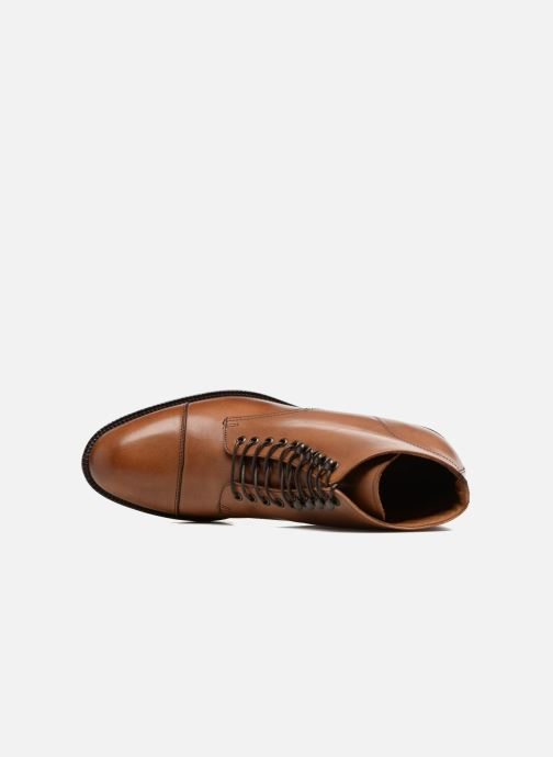 Ankle boots Marvin&co Norham Brown view from the left