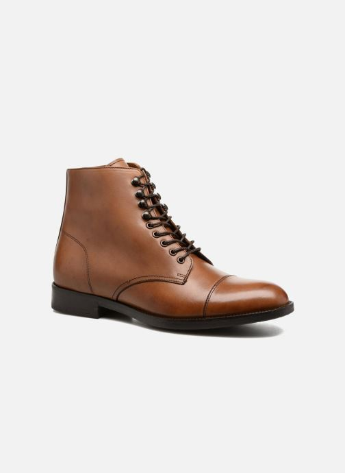 Bottines et boots Marvin&Co Norham Marron vue détail/paire