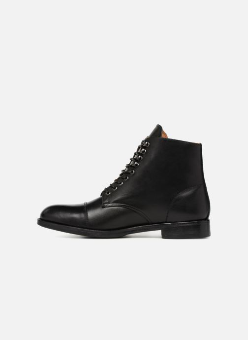 Ankle boots Marvin&co Norham Black front view