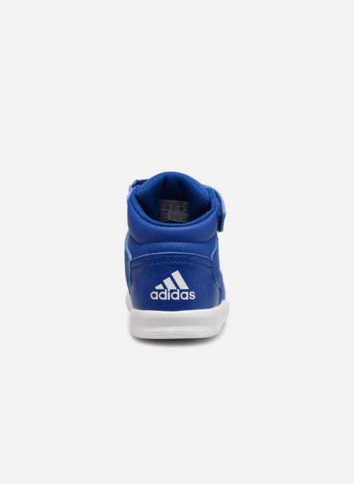 Baskets adidas performance Altasport Mid El I Bleu vue droite