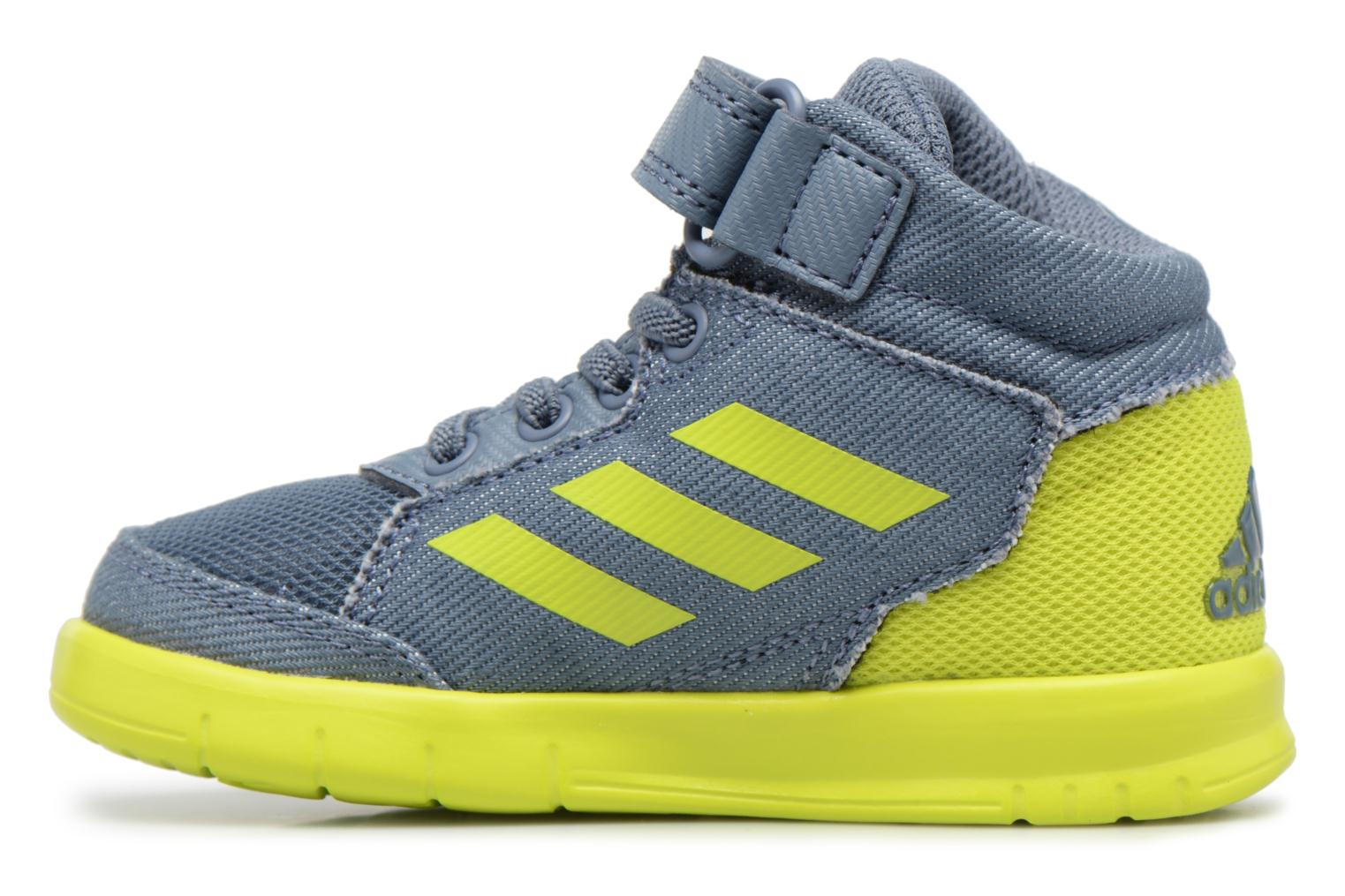 Baskets Adidas Performance Altasport Mid El I Bleu vue face