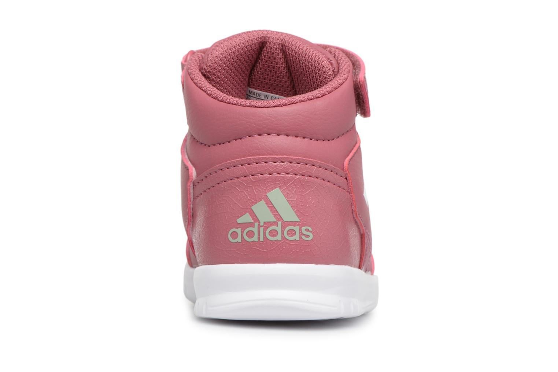 Baskets Adidas Performance Altasport Mid El I Violet vue droite