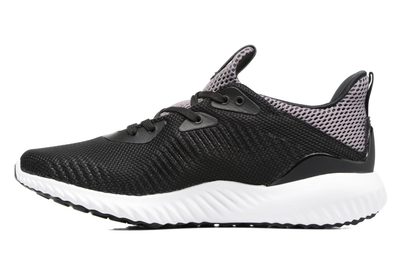 Sneaker Adidas Performance Alphabounce J schwarz ansicht von vorne