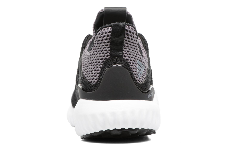 Sneaker Adidas Performance Alphabounce J schwarz ansicht von rechts