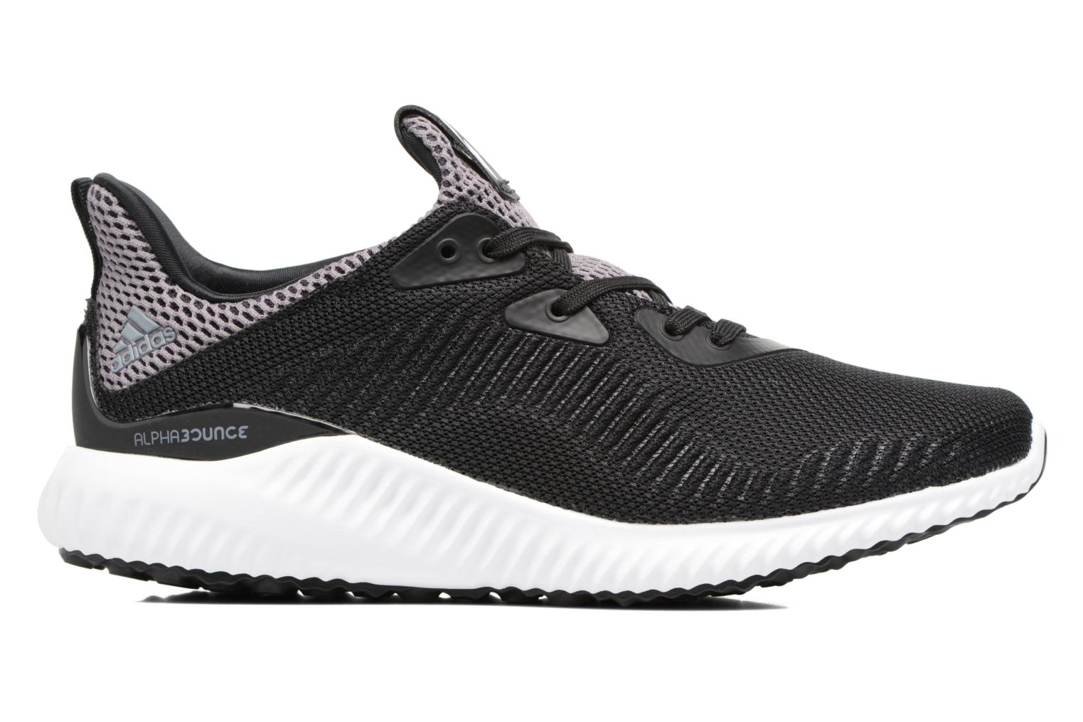 Trainers Adidas Performance Alphabounce J Black back view