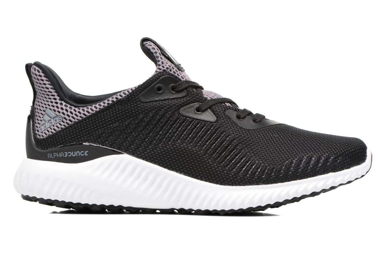 Sneaker Adidas Performance Alphabounce J schwarz ansicht von hinten