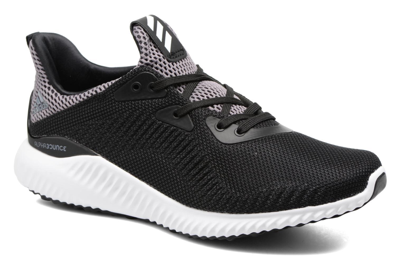 Sneaker Adidas Performance Alphabounce J schwarz detaillierte ansicht/modell