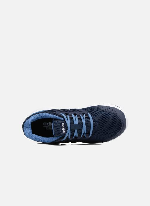 Sport shoes adidas performance Galaxy 4 K Blue view from the left