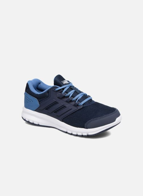 Sport shoes adidas performance Galaxy 4 K Blue detailed view/ Pair view