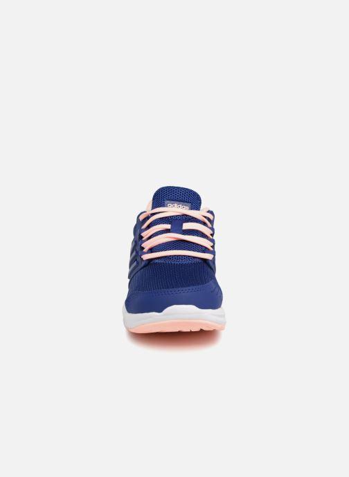 Sportschuhe Adidas Performance Galaxy 4 K blau schuhe getragen