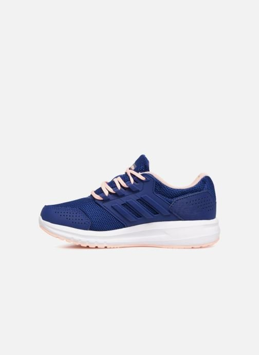 Sport shoes adidas performance Galaxy 4 K Blue front view