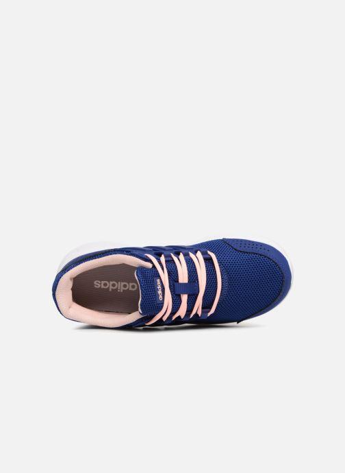 Sportschuhe Adidas Performance Galaxy 4 K blau ansicht von links