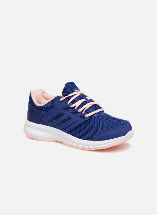 superior quality 2fde8 e0aa0 Sportssko Adidas Performance Galaxy 4 K Blå detaljeret billede af skoene