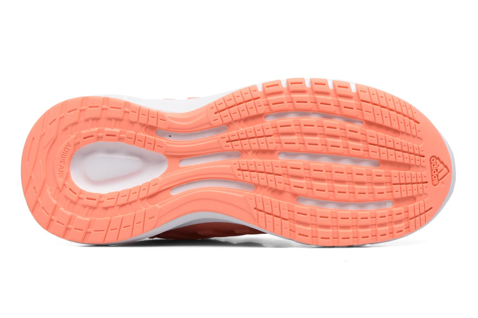 Sport shoes Adidas Performance Galaxy 4 K Pink view from above