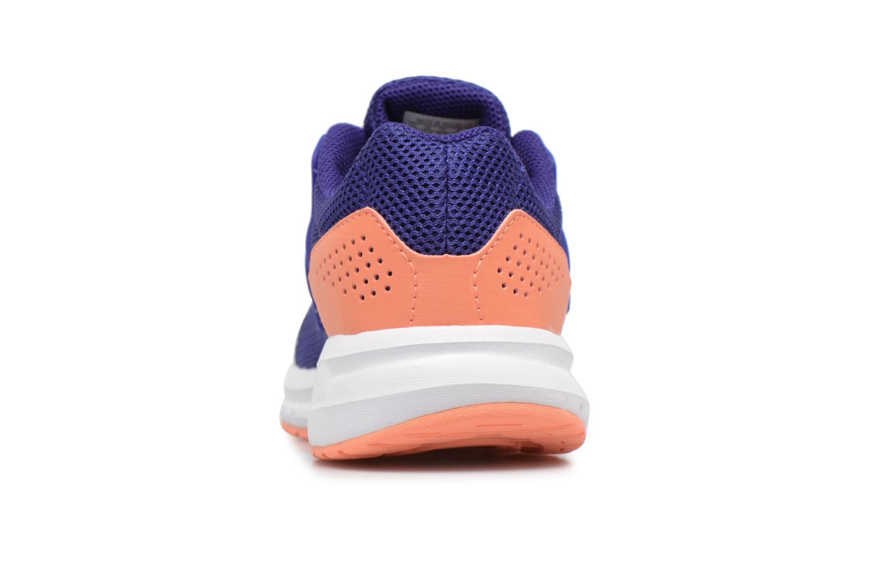 Chaussures de sport Adidas Performance Galaxy 4 K Bleu vue droite