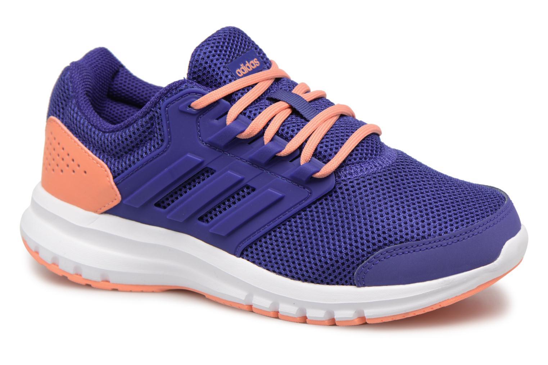Chaussures de sport Adidas Performance Galaxy 4 K Bleu vue détail/paire