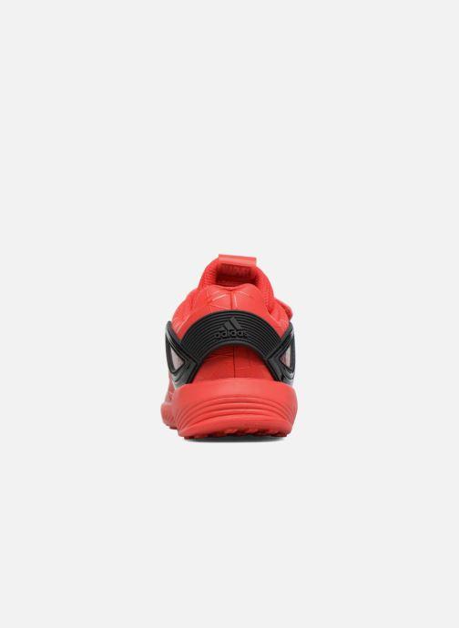 Baskets adidas performance Spider-Man Rapidarun I Rouge vue droite