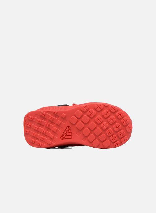 Baskets adidas performance Spider-Man Rapidarun I Rouge vue haut